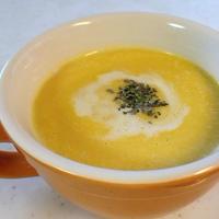 塩麹の冷製かぼちゃスープ