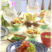 アンチョビトマトパスタ。 と お昼ごはん。