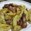 豚バラとジャガイモのスパイスソテー