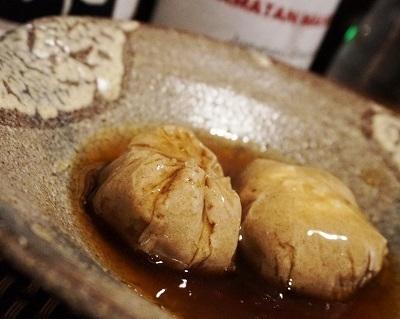 新蕎麦の季節に、蕎麦栗団子、空芯菜としめじのピリ辛もろみ炒め、柿の白和え、鱈霙煮