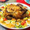 丸鶏でローストチキン ハーブソルト&ペッパー