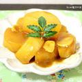 大根のカレーニンニク醤油煮