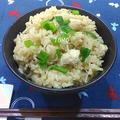 味付けは麺つゆだけ!鶏肉とゴボウの炊き込みご飯