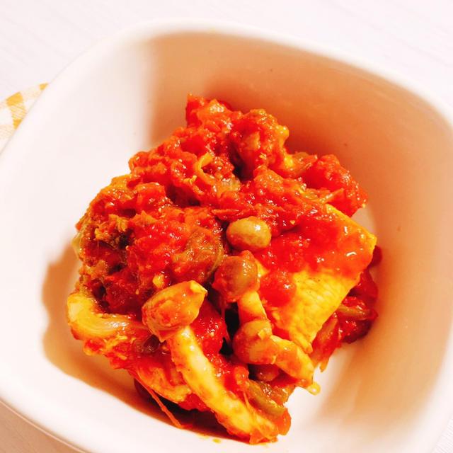 鶏肉 トマト 缶 レシピ