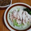 鶏胸肉で簡単に 「棒々鶏(バンバンジー)」