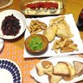 我が家のフィッシュアンドチップスは肉厚で食べごたえ抜群の「サメ」が定番、簡単マッシーピーズも作りました&もっちり&とろ~り!茄子のモッツァレラサンドオーブン焼き