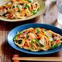 ♡残り野菜de超簡単♡だし香る醤油焼うどん♡【#麺#時短#節約】