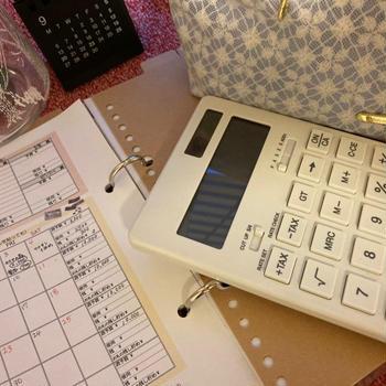 簡単おやつと、家計簿