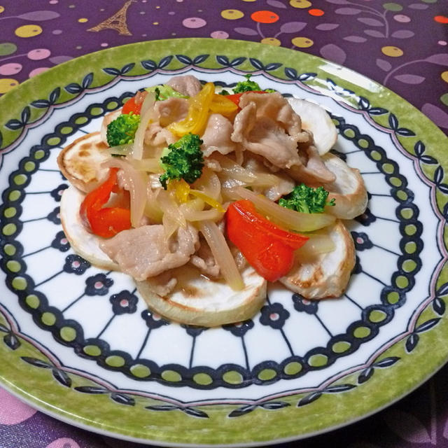 豚肉の柚子ハニーソテー