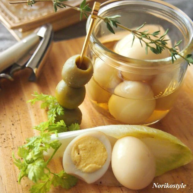 うずら卵のピクルス*前日作り置きおつまみ