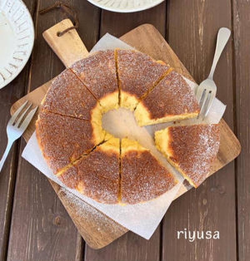 ホットケーキミックス×フライパンでらくらく!「本格ケーキ」5選