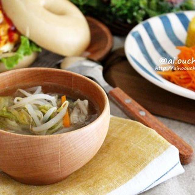 夏バテ防止♡白菜の漬物で冷えた身体を温める!さっぱり夏鍋スープ♡