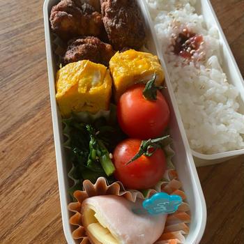 鶏の米粉揚げ塩麹生姜ニンニク風味弁当