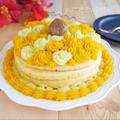 ケーキみたいな芋栗かぼちゃのホットケーキ