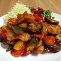 豚肉と野菜のコチュジャン&スイートチリの甘辛炒め