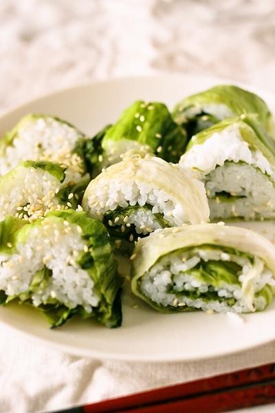 【節分に!】簡単美味しい♪広島菜のめはり風巻き寿司