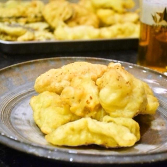 【沖縄天ぷら 魚にんじんさつまいも!】彩美しい人参が甘いんです!