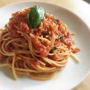 缶詰頼りで問題なし♪「トマト缶×ツナ缶」のお手軽パスタレシピ