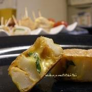 【レシピ形式】お弁当にも、おつまみにも♪ まるでナゲット!? 竹輪チーズのサクふわピカタ