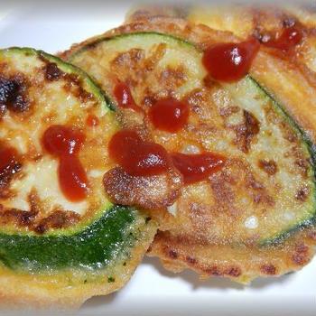 ズッキーニのピカタ~チーズの仕事