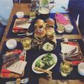 料理教室 ハンバーガー