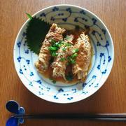 えのきの豚肉巻き バターポン酢炒め