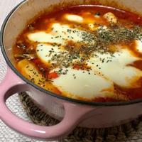 辛くないのでお子ちゃまも一緒に「イタリアンなトマト・ソース トッポッキ」。