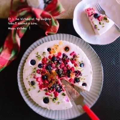フルーツレアチーズケーキ・リラックマ