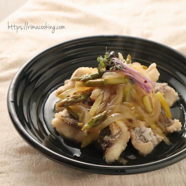 【レシピ】とろ~り餡が絡んだお魚が美味!白身魚の餡かけ