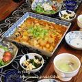 ◆麻婆冬瓜に自家製ツナのパクチーサラダ~ゆるやか糖質制限♪