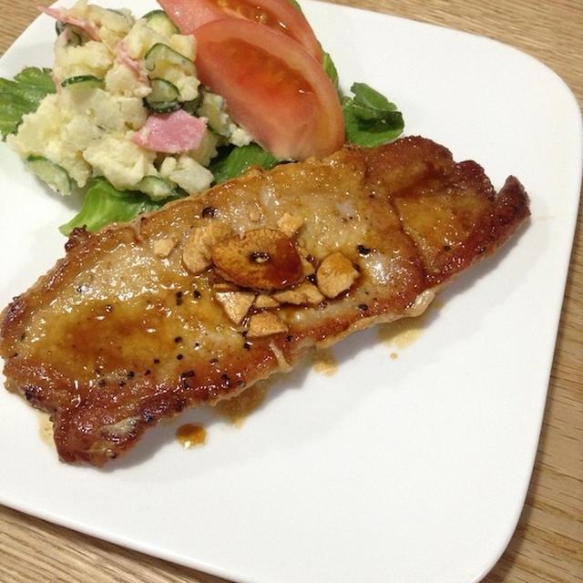 久方ぶりに厚めの肉を食す 「トンテキ」