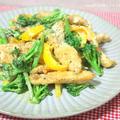 鶏肉とブロッコリーのオイ・マヨ・ペッパー炒め
