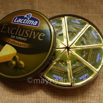 【チーズ】Lactima クリーミーチーズ オリーブ入り