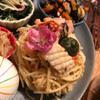 たっぷり青紫蘇とたらこのスパゲティ