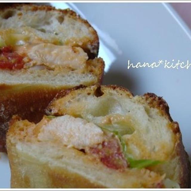 ふっくら胸肉で、あのサンドイッチの味を!!(^^)!