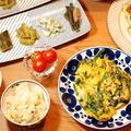 お盆の冷蔵庫整理!キャベツ・ニラ・きゅうりメインの夕ご飯