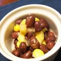 きのうのおつまみ  小豆のコーンサラダ