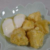 ダブルチーズのハチミツとろコク揚げ♡