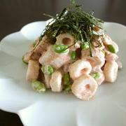 【レシピ動画】竹輪と枝豆の明太マヨ和え♪ by bvividさん