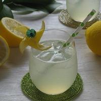 しぼりたてが美味しい♪ レモンスカッシュ