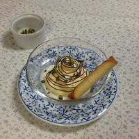 レシピブログのモニター参加中   「ヌテラ」でバニラアイスをおめかししました。
