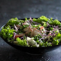 昆布じめお刺身サラダと副産物