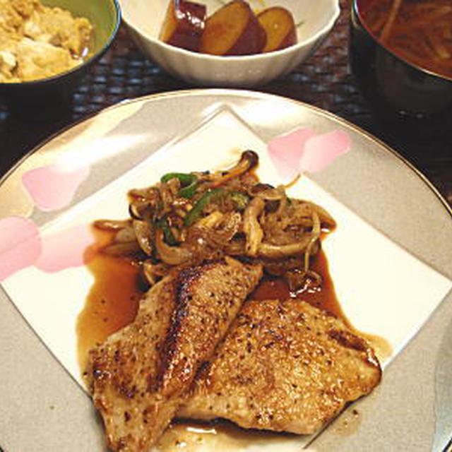 マグロのバルサミコ風味ステーキ(レシピ付)