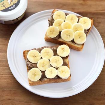 週5食べちゃった!『コーヒーホイップクリーム&バナナトースト』 #朝ごはん #ハマったもの