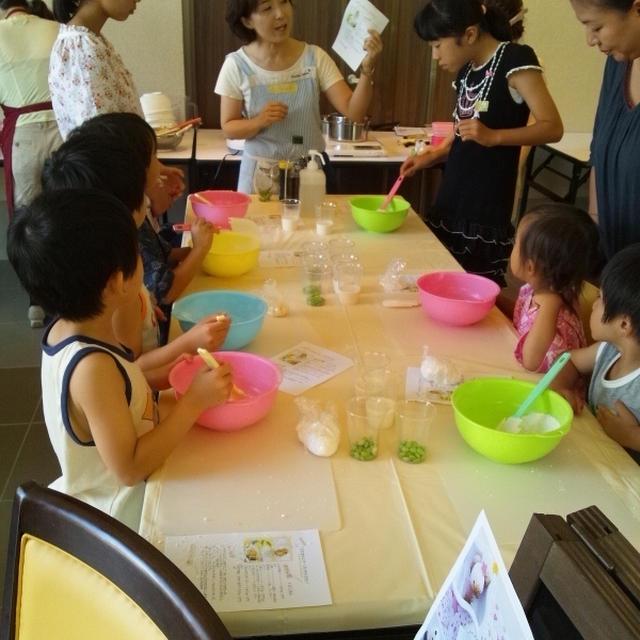 キッズフェスタ子供料理教室総集編☆枝豆もちもちパンとデコ団子