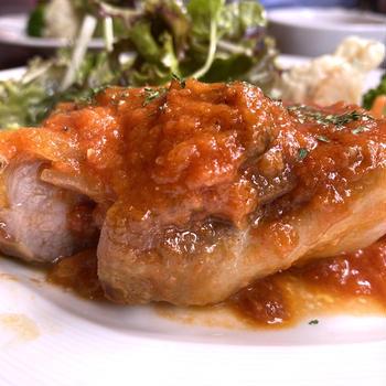 新日本橋ランチ バルの昼ランチはカレーもいいけどお肉でしょ!