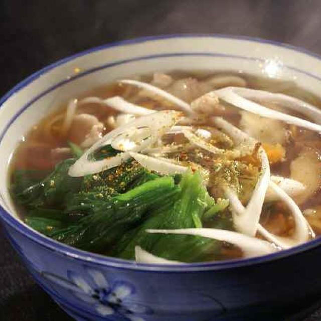 《昼ご飯は肉うどん/茄子の煮びたし/菜の花の酢味噌掛け/サラダ》他です。