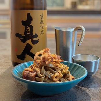 毎日キムチと秋田の酒