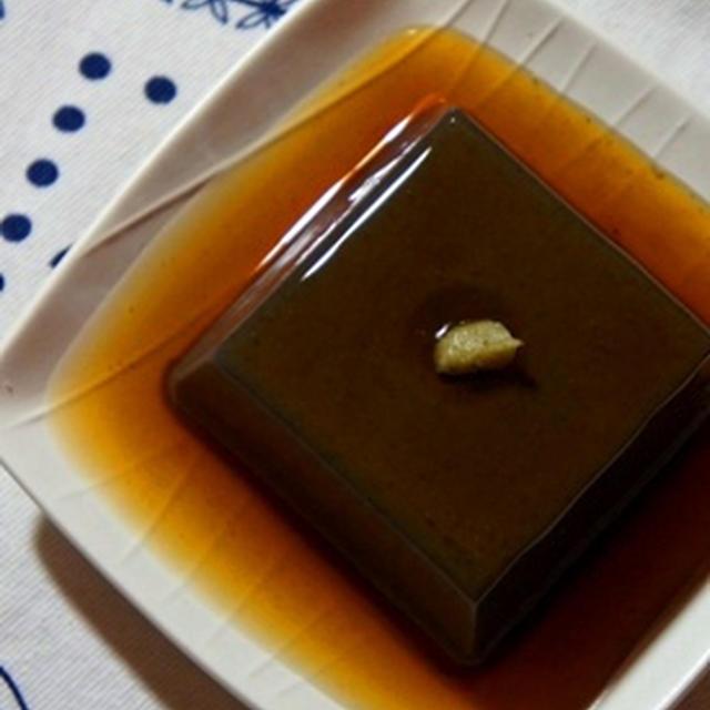 ブルゴーニュ赤にあう和食、ごま豆腐の鼈甲餡、鯖の山椒味噌焼き