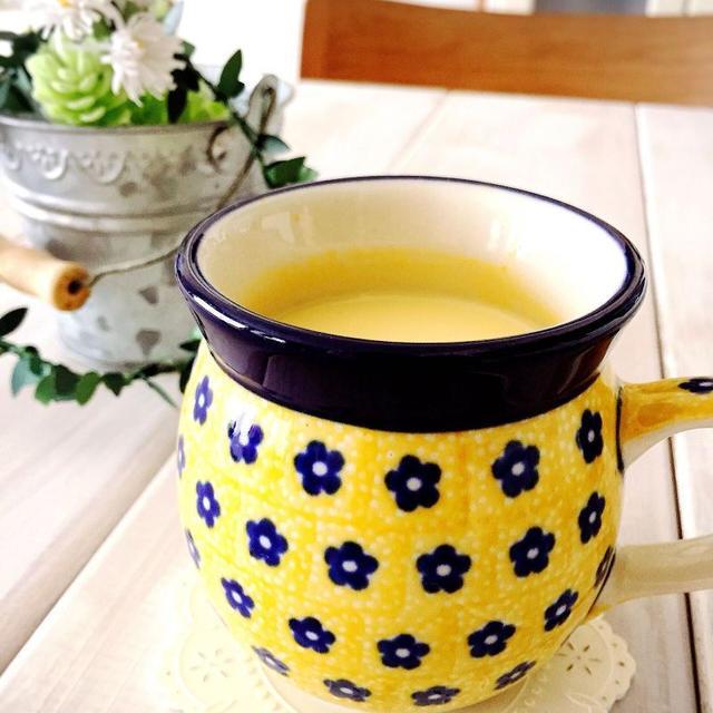 寒い朝はパンプキン豆乳ハニーラテ⭐︎そして、アレンジも!!!